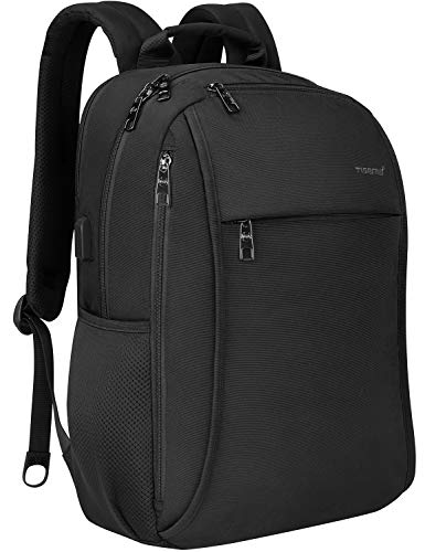 Tigernu Laptop Backpack Travel Business Anti Theft Laptops Backpacks with USB Charging Port,Water Resistant Computer Bag Fits 15.6 Inch Laptop