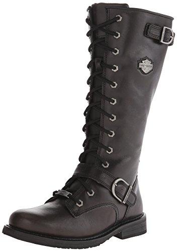 Harley-Davidson Women's Jill Motorcycle Boot, Snare, 9.5 M US