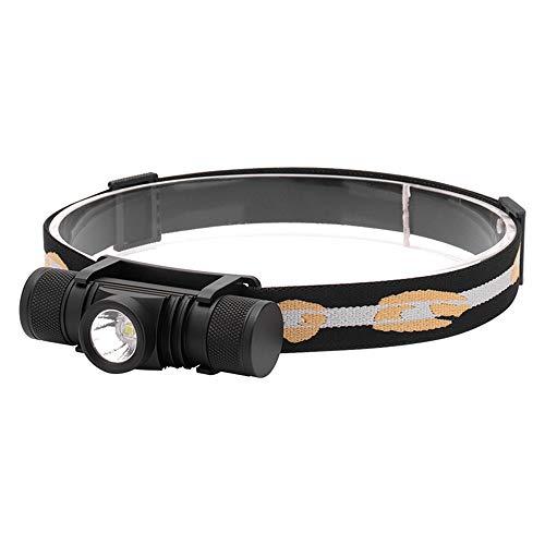 Linterna frontal LED Xm-l2, 3000 lúmenes, faro LED recargable por USB, linterna de pesca para camping