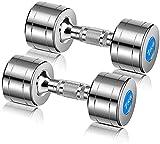 Suge Fitness Hantel Qualität Pure Steel Hantel 10kg Hantel * 2ST Hantel Fitness-Pair-Hantel (Size :...