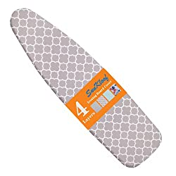 SUNKLOOF Scorch Resistance Ironing Board Cover and Pad