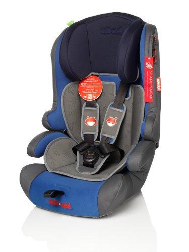 ZOE&JOE Scandinavian ZJ213 Silla de coche para niños - Grupos 1, 2 Y 3 de 9-36 kg AZUL y GRIS. Normativa Europea ECE R44/04