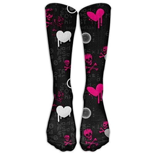 Schedels foto's en beelden afgestudeerde compressie sokken voor mannen en vrouwen beste kousen voor verpleegkundigen, reizen, hardlopen, zwangerschap