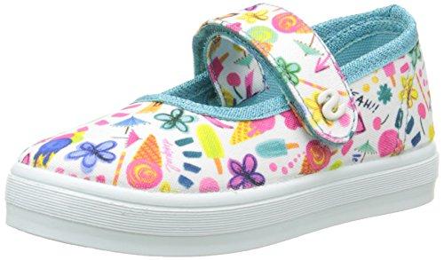 Desigual Mädchen Shoes_LONA 3 Espadrilles, Blau (5103 Azul Atoll), 31 EU
