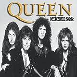 Queen Calendar 2022: Queen Official 2022 Calendar with Notes Section, 8.5 x 8.5 Monthly Colorful Square Calendar Queen 2022