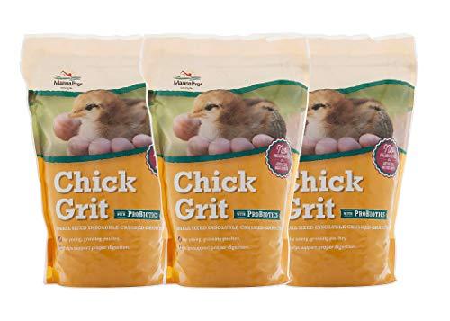 Manna Pro Chick Grit with Probiotics, 5 lb (3-(Pack))