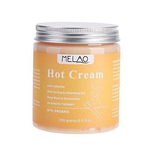 Cellulite Creme MQUPIN,Anti Cellulite Massage,Cellulite Massage Creme gerät Straffende Creme aktiviert die Haut, Fettverbrennungscreme für Taille, Bauch, Beine und andere Teile, 250g
