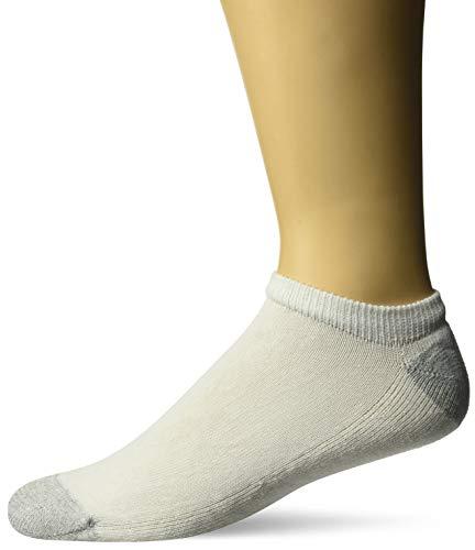Hanes Men's Ultimate No Show Socks, 10-Pack