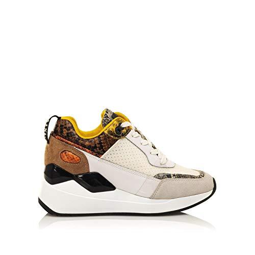 SixtySeven 30488 Damen-Sneaker, Weiß - weiß - Größe: 39 EU