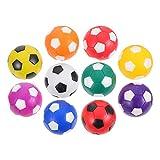 STOBOK 10 Piezas de Bolas de Mesa de Futbolín Mini Pelotas de Fútbol de Mesa de Repuesto de Mini Pelota de Deporte Juguetes para Futbolín de Mesa Juego de Mesa Accesorios de Futbolín