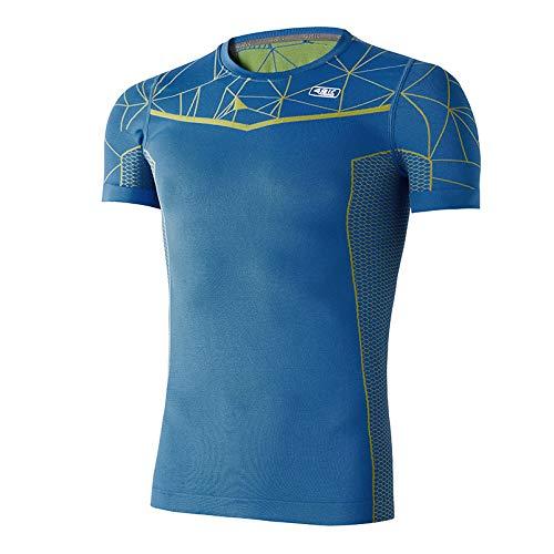 42K RUNNING - Camiseta Termocompresiva LHOTSE Blue XL - XXL