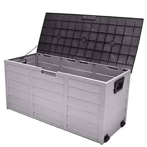 Price comparison product image SKEMIDEX---all weather uv Pool Deck Box Storage shed bin Backyard Patio Porch Outdoor new And patio furniture home depot patio furniture lowes patio furniture target small patio furniture patio