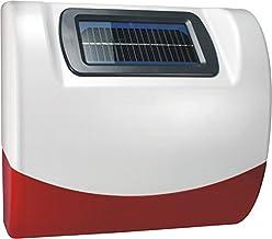 Smartwares draadloos buitensirene/stroboscoop Elro 868 MHz alarmsysteem SA68G, wit