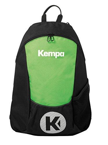 Kempa Unisex-Erwachsene 200490605 Rucksack, Schwarz (Neo/Vde Espnza), 24x36x45 centimeters (W x H x L)