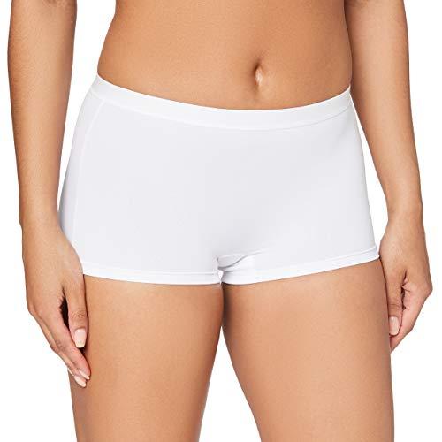 Sloggi Sloggi Sensual Fresh Short Brief - Culotte para mujer, color blanco, talla 38 (Talla del fabricante: 8)