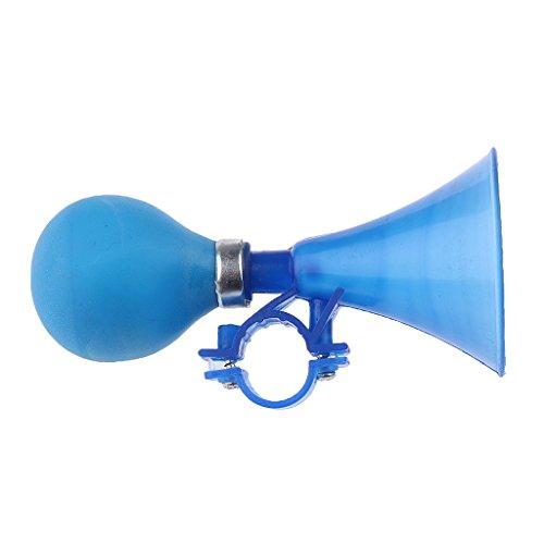 dovewill niños peso ligero para bicicleta Ciclismo plástico manillar Anillo Cuerno Sonido Bell alarma seguridad deportes al aire libre Accesorios, 3colores, Azul