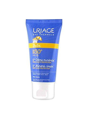 Uriage Bébé 1ère Crème Minérale SPF 50+ 50 ml