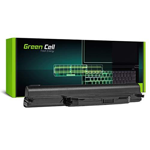Green Cell Batería para ASUS F45V F45VD F45VD1 F55 F55A F55C F55CR F55U F55V F55VD F55VDR F75 F75A F75A1 F75V F75VB F75VC F75VD F75VD1 K45 K45A K45D Portátil (6600mAh 10.8V Negro)