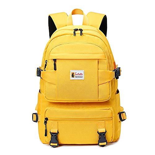 CMZ Schoolbag weibliche Schüler Wasserabweisende Mode Oxford Stoff Rucksack Damen College-Studenten große Kapazität Reiserucksack Flut