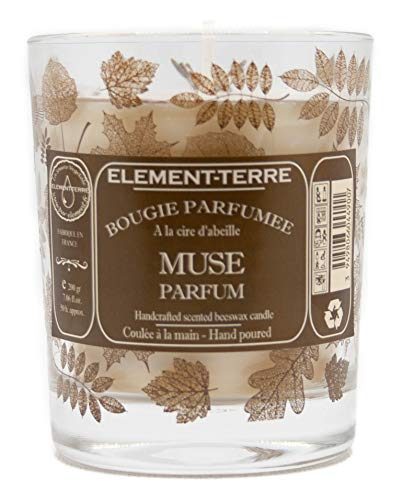 Element Duftkerze, 200 g, 50 Stunden, Muse