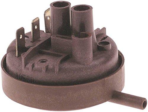 Electrolux Pressostat für Spülmaschine 556130, 556115, 556100, 556125, 556200 310/180mbar ø 58mm Anschluss Flachstecker 6,3mm