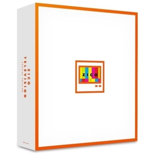 Zico - [Television] Special Edition 3,000ea Limited CD+DVD+Photobook K-POP Sealed