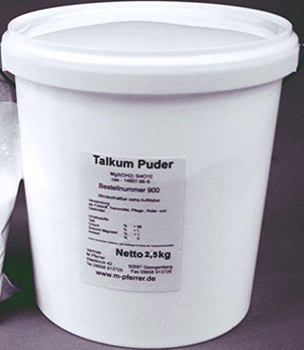 Beton-abc 2,5 kg Talkum Puder im Eimer, Talk Asbestfrei (EUR 5,90 /kg)