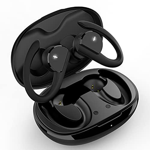 【Nuovo Modello】Cuffie Bluetooth, Auricolari Bluetooth5.0 Sport Senza Fili, Auricolari Wireless con Bassi Profondi 36 Ore di Riproduzione, IPX7 Impermeabile Resistente al Sudore