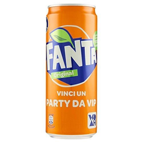Fanta - Bevanda analcolica, Al succo di Arancia - 24 pezzi da 330 ml [7920 ml]