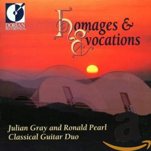 Hommages And Evocations (Zeitgenössische Kompositionen für zwei Gitarren)