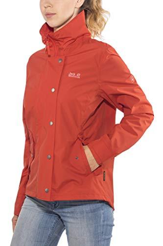 Jack Wolfskin Newport Jacket Women Größe L Volcano red