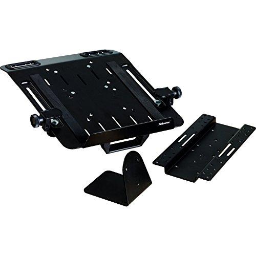 Fellowes 8211901 Kit Complémentaire Porte Ordinateur pour Bras Professional Series Noir