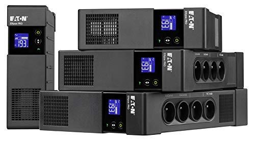 """Eaton Ellipse PRO 1600 - UPS - AC 230 V - 1000 Watt - 1600 VA 9 Ah - USB - output connectors: 8-2U - 19"""""""