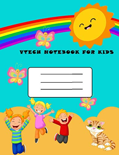 vtech notebook for kids: 8.5×11in (21.59×27.94 cm) 40 rulled pages