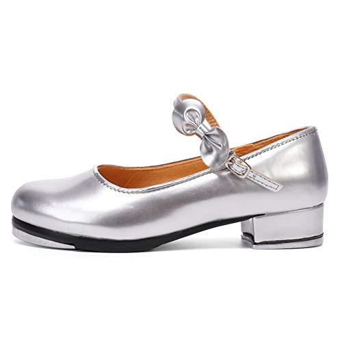 scarpe tip tap AOQUNFS Scarpe da Tip-Tap Donna/Bambina Tap Scarpe da Ballo Tap Shoes