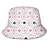 Gorra de Pescador Gorra de Sol Seamless Background Suits Sombrero de Sol de Cubo para Hombres y Mujeres Protection Packable Summer Gorra de Pescador para Pesca, Safari, Playa y Paseos en Bote