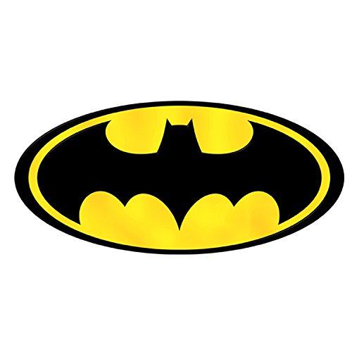 Batman Logo-Badge Wand Sicker Vinyl Wand Kunst 3Größen für Autos Motorräder Wohnwagen Häuser customise4utm, bullet holes, 700 mm