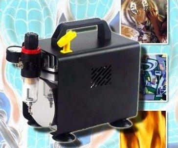 Airbrushcompressor zuiger compressor Airbrush pistool compressor lak AK3