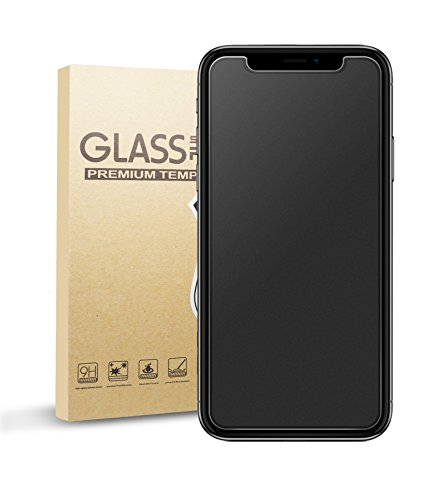 ELETEK iPhone X Matte Screen Protector, Anti-Glare & Anti-Fingerprint Tempered Glass Film Bubble Free Smooth Accurate Touch Ballistic Shield for iPhone 11 Pro/Xs/X