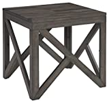 Signature Design by Ashley Haroflyn Rustic Square End...