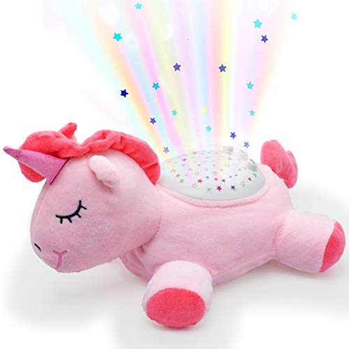 Luz de noche para bebé, luz nocturna y sonido de la máquina de sonido de la escotilla, luz nocturna, chupetes de sueño para bebés, niños, niñas y niños durmiendo