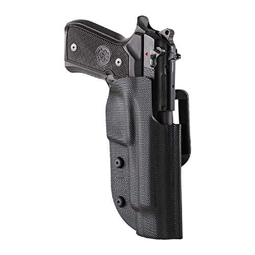 Ghost pistolera Pistola Civilian Negra con Doble Ataque, para Disparos dinámicos IPSC, IDPA, IASC, FIAS, Puertos Ocultos y Civiles (Walther P99, para diestros)