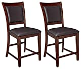Ashley Furniture Signature Design - Collenburg Counter Height Bar Stool - Dark Brown