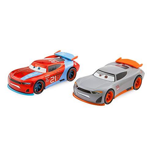 Disney Ryan ''Inside'' Laney & Rookie #003 Pull 'N' Race Die Cast Set - Cars