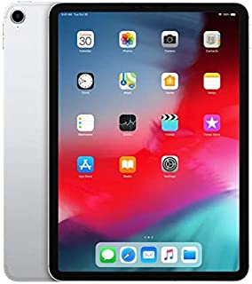 """Apple iPad Pro 11"""" (2018 - 3rd Gen), Wi-Fi + Cellular, 1TB, Silver [Without Facetime]"""
