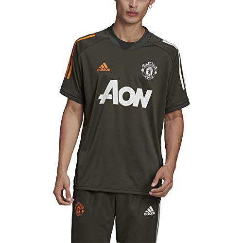 adidas Male Manchester United Training Jersey, Earth , S