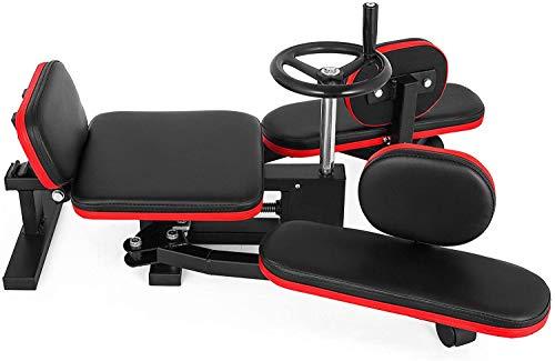 zvzvo Leg Stretcher Heavy 330lbs, Red Leg Stretcher, Improve Leg Flexibility, Leg Stretcher Training Machine, Muscle Lift Machine, Dance Leg Step Training, for Home &Gym, for Men/Women