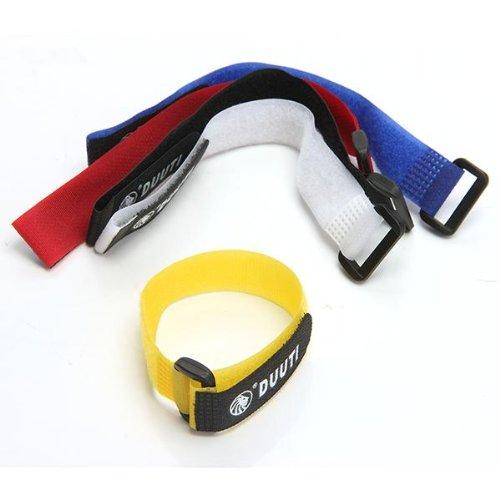 5PCS Bandas Correa de Velcro Ajustable para MTB Bici Bicicleta