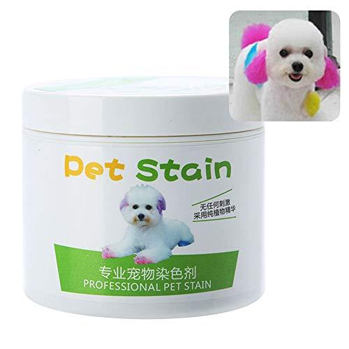 Livecity 100 ml professionelle Haarfarbe für Katzen und Hunde, Cremefarben für stilvolles Haustier, Rosa