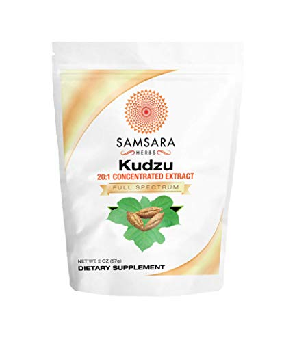 Samsara Herbs Kudzu Root Extract Powder (2oz / 57g) 20:1 Concentrated Extract